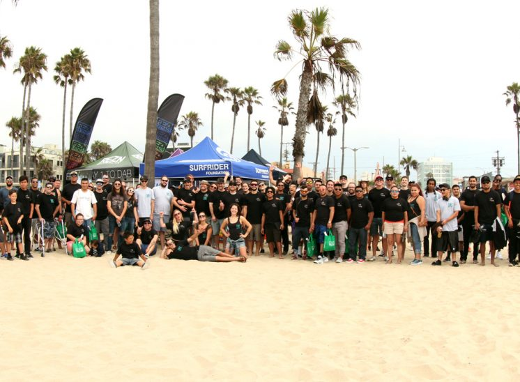 THC Design Surfrider Foundation Beach Cleanup