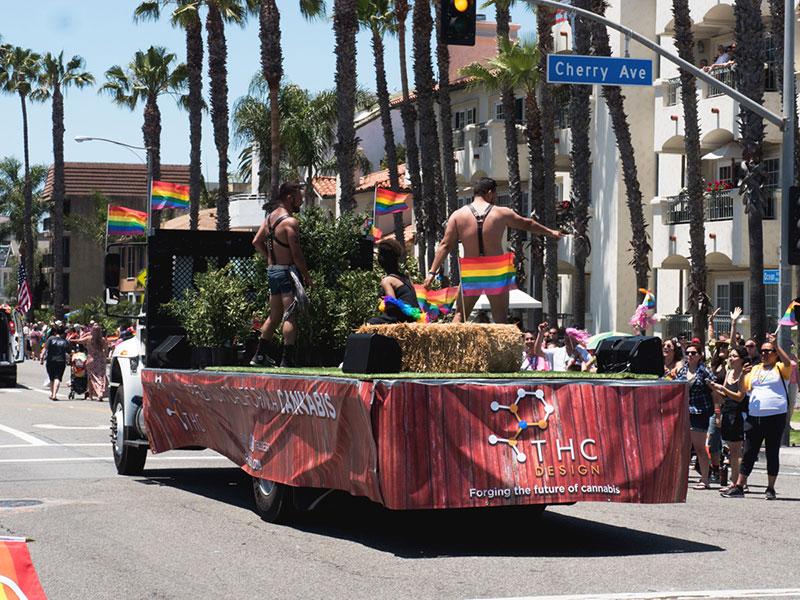 THC Design Participates in Long Beach, CA Pride