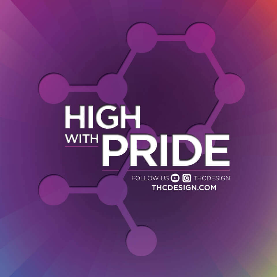 high with pride